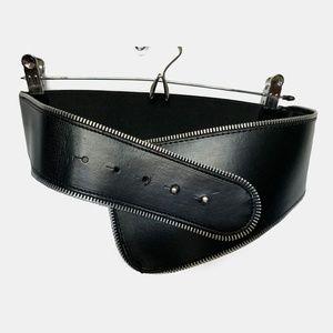 H&M zipper belt
